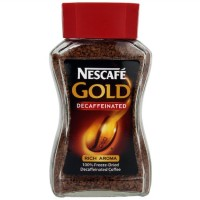Nescafe Decaf Gold Blend Jar 100Gr   Kopi Bubuk Premium Rendah Kafein