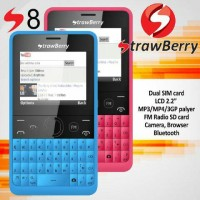 harga HP STRAWBERRY S-8 / S8 / S 8 ASHA 210 DUAL GSM || NEW GARANSI 1 TAHUN Tokopedia.com