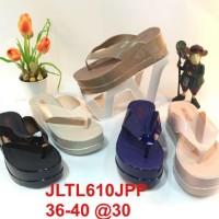 harga BBL610 bara bara shoes jelly sandal wedges tebal Tokopedia.com