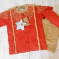 Koko Anak /Baju Muslim Anak 4-6thn Lucu Murah Merk Haydar (Hamzah)