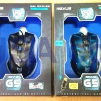 Mouse Gaming Rexus G5 (RXM-G5) 3D Design + lampu LED MURAH berkualitas