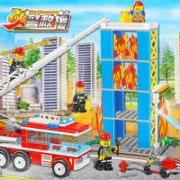 Jual lego chaobao the fire rescue mobil pemadam kebakaran Murah