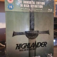 blu-ray steelbook Highlander UK