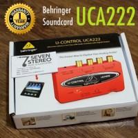 Behringer UCA222 Soundcard With Usb Audio Interface // Best Seller!!