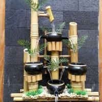 harga Handicraft Kerajinan Bambu @ Pancuran Kendi 4 Tokopedia.com