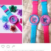 harga jam tangan stitch unik couple Tokopedia.com