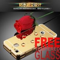 harga Hardcase Mirror Metal Bumper Acrylic at Back Hard Case Huawei GR3 Tokopedia.com