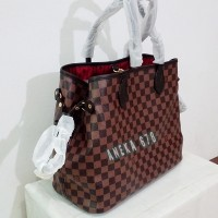 TAS LV NEVERFULL DAMIER Size M SEMI SUPER LOUIS VUITTON