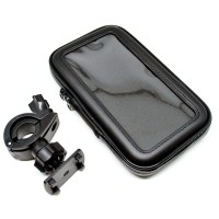 harga Mount Holder Motor Sepeda Waterproof Case for Smartphone 5.5-6 Inch Tokopedia.com