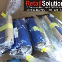 harga PITA / RIBBON PRINTER BARCODE LABEL SIGNATURE 110mm X 70m wax Tokopedia.com