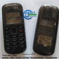harga Casing Nokia 1280 Transparan Fullset Warna-warni Tokopedia.com
