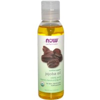 Now Foods, Solutions, Certified Organic, Jojoba Oil 4 fl oz (118 ml)
