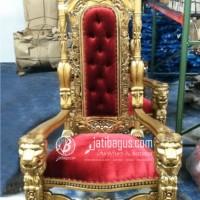 Sofa Tunggal Raja Singa Emas
