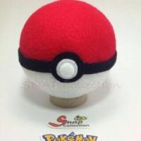 Boneka pajangan pokeball anime game pokemon go
