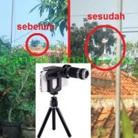 Jual Lensa Telezoom 8x Tripod Higt Quality Murah