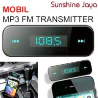 Car Mp3 Player Fm Wireless Transmitter For Iphone & Android