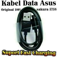 Kabel Data Asus Zenfone 4, 4S, 4C, 5, 6, 2, Padfone (Original 100%)