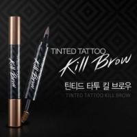 Jual Tato Alis dan Maskara - Tinted Tattoo Kill Brow Kiss Beauty 2 in 1 Murah
