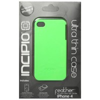 INCIPIO Feather Case for iPhone 4 with Logo - Light Gre Berkualitas