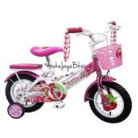 harga Sepeda anak Wim Cycle Strawberry 12 Tokopedia.com