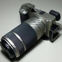 Garskin Sticker Lensa Sony Sel 55-210