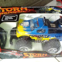 Mainan RC Mobil BigFoot Offroad Jeep STORM Wilderness skala 1:16