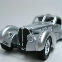 harga Bugatti Atlantic Silver - Diecast Mobil Antic Bburago 1:24 Tokopedia.com