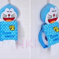 harga Tempat Tissue Gulung Doraemon Polkadot Tokopedia.com