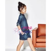 Pakaian Anak - Jumpsit Anak Perempuan Denim Mini Jeans (mj 394) 2-7thn