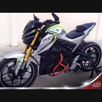 Crash Bar Xabre Pelindung Mesin & Body ) Yamaha / M Slaz - AGNA v.1
