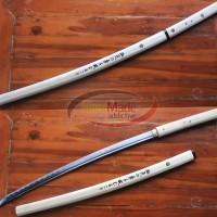 harga samurai katana pedang anime shirasaya nenekirimaru asli tajam Tokopedia.com