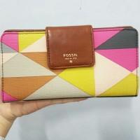 harga Dompet Fossil Sydney Tab Multi Pink Original Wallet Tokopedia.com