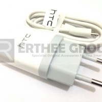 Charger Htc Desire 300 816 One X M7 M8 M9 Mini Max 1a Original (white)