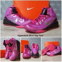 sepatu basket nike hyperdunk 2014 kay yow think pink / kobe / lebron