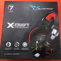 Jual GAMING HEADSET SONIC GEAR X-CRAFT HP2000 Murah