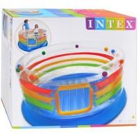 harga Trampolin Angin / Jump-O-Lene Transparent Ring Bounce Intex 48264 Tokopedia.com