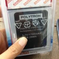 Baterai Polytron Quadra V5 W7550 Pl-7w6 1700mah Original