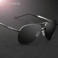 Jual (Original) Kacamata Aviator Polarized+Anti UV Sunglasses SL-002AV Murah