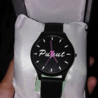 jam tangan couple custom nama tanggal foto gambar kartun dll