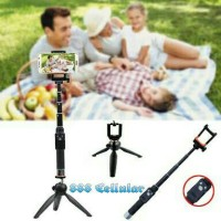 Jual Paket Selfie YUNTENG Tongsis Bluetooth YT-888 + Mini Tripod YT-228 Murah