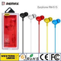 REMAX RM-515 In-ear Stereo Earphone Hands-free Headphone Original