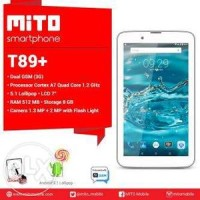 Mito Tablet T89+ Ram 512 Rom 8gb
