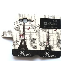 Oppo Joy 3 Flipcase Paris Softcase Leather Case Flip Cover Casing hp