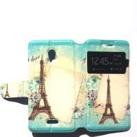 Oppo Joy Flipcase Paris Softcase Leather Case Flip Cover Casing Hp
