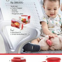 Turbo Chopper Tupperware pencacah daging tim bumbu blender manual