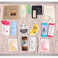 Korean Makeup Sample Tester Korea Make Up Skinfood Tonymoly Etude