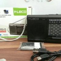 PEMUTAR RADIO + MUSIK Mp3 MINI PORTABLE FLECO F-315