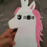 unicorn 3D case iphone 5, 6 dan samsung s5 s6 s7 j5 note 3,4,5