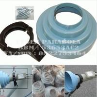 Conical Scalar Ring + Braket LNB C band