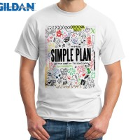 Kaos Simple Plan Band Get Your Heart On The Second Coming! Gildan